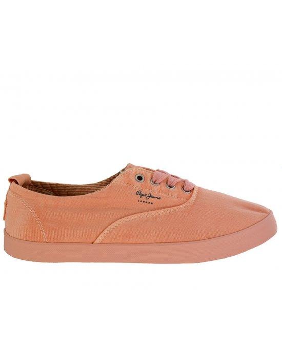 4ceedaad1e3 Γυναικεία Sneakers Pepe Jeans σομόν (PLS30517)