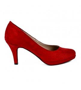 Γοβες sedici red suede (5685)