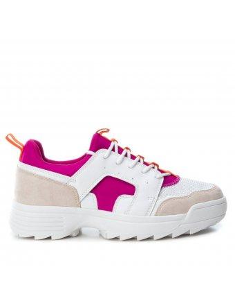 Sneakers Xti combinado fucsia (41637)
