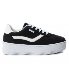 Sneakers flatforms Refresh black (69862)