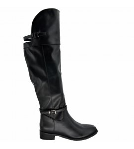 Μπότες Sedici over the knee black (Z1713-W73)