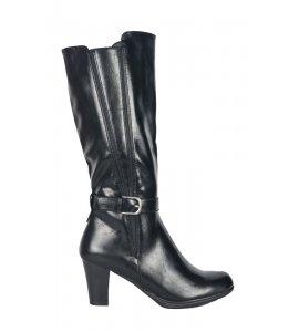 Μπότες La Coquette black (A1630)