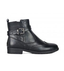 Μποτάκια Sedici black (Z895-W01)