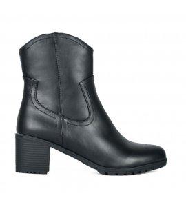 Μποτάκια Sedici με τακούνι black (Z896-W01)