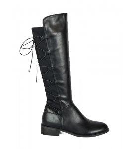 Μπότες Sedici  με λύκρα black (Z1713-P2545)