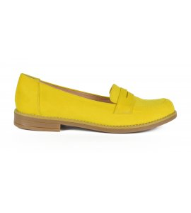 Mπαλαρινες sedici yellow suede (100)
