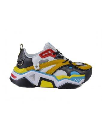Sneakers xti amarillo (44131)