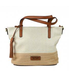 Τσάντα χειρός Refresh blanco (83251)