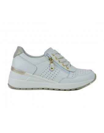 Sneakers Seven beige lea (FT190204)