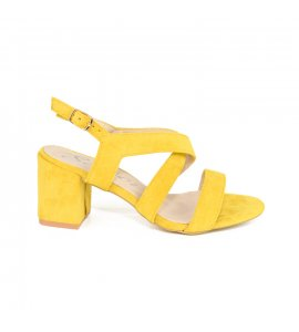 Πέδιλα Sedici yellow suede (7596-A)