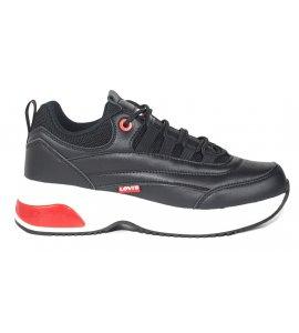 Sneakers Levi's μαύρο (VSHE0030S)