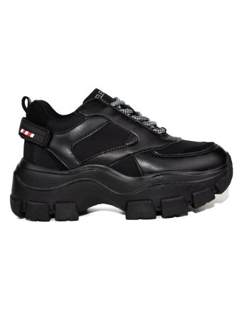 Sneakers sedici eleven black (J19699)