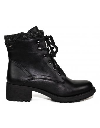 Μποτάκια Sedici black (SY175-K3859)
