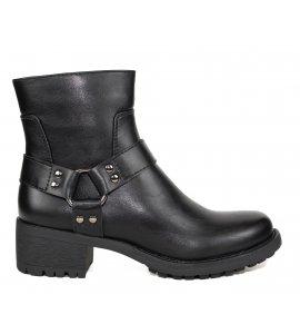 Μποτάκια Sedici black (SY175-P3255)
