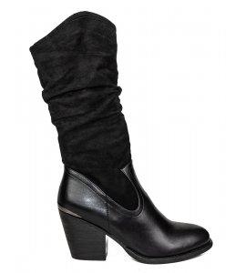 Μπότες Sedici black (Z1632-K3867)