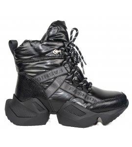 Sneakers eleven sedici black (8090-N832)
