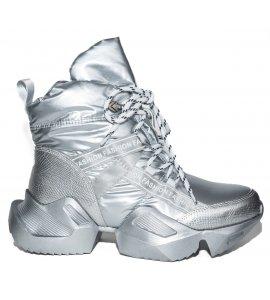 Sneakers eleven sedici  silver (8090-N832)