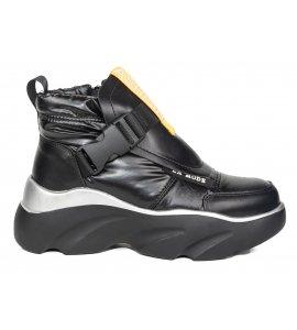 Sneakers eleven sedici black (6767-N829)