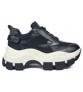 Sneakers eleven sedici black (EL-12)