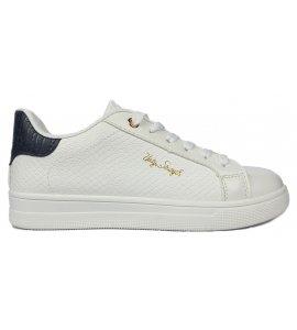 Sneakers eleven sedici white- black (EL-16)