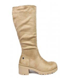 Μπότες xti beige (43418)